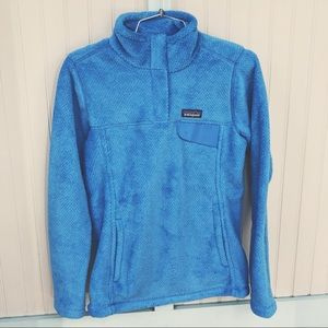 Patagonia W's Re-Tool Snap-T Pullover Port Blue